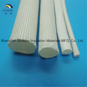 High Temperature 500c and Heat Resistant Braided Fiberglass Electric Insulation Sleevings pictures & photos