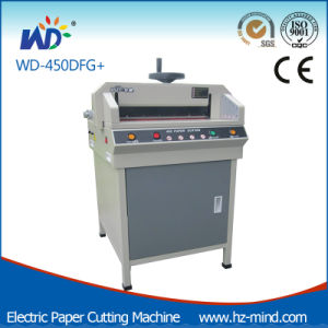 Electric Paper Cutting Machine Paper Cutter 450mm (WD-450DG+) pictures & photos