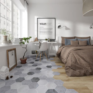 China Marble Hexagon Hexagonal Tiles