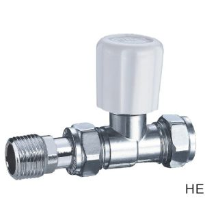 (HE-4102) Radiator Valve with Zinc, Aluminum or Plastic Handle for Water