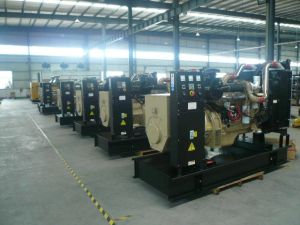 12kw / 15kVA Diesel Generator Set with UK Brand Engine
