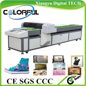 CE Glass Ceramic Leather Plastic Wood Metal Canvas Acrylic Cotton Printer (Colorful-6025)