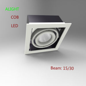 New Design China Supplier Aluminum Die-Casting LED Grille Light 35W COB