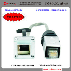 China Factory Zinc Plating RJ45 Cable Carriers Connector pictures & photos