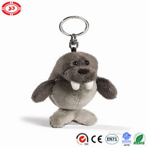 Little Cute Grey Walrus Keychain Plush Soft Toy pictures & photos