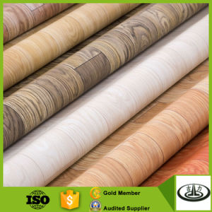 Wood Grain Printing Floor Paper with High Quality