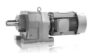 Fr Series in Line Helical Gearbox Foot Mounted Reducer Geared Motor pictures & photos
