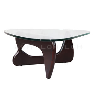 China Isamu Noguchi Dark Brown Coffee Table China Side Table