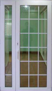 Conch 60 PVC/UPVC Casement Door pictures & photos