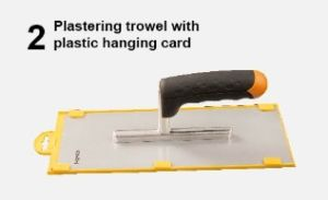 Stainless Steel Plastering Trowel with Plastic Hanging Card pictures & photos