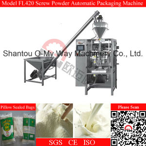 PLC System Screw Type Milk Powder Automatic Vertical Packing Machine pictures & photos