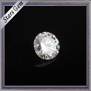 Vvs Clear White Round Diamond Cut Synthetic Moissanite pictures & photos