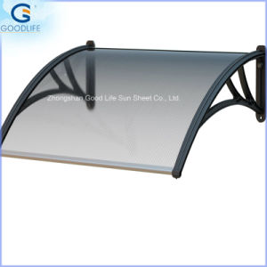 100%Bayer Material Roofing Solid Polycarbonate Panel for Skylight Awning pictures & photos