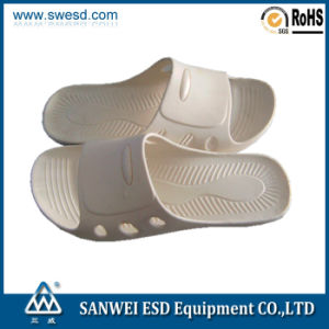 White ESD Spu Slipper 3W-9102b pictures & photos