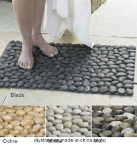 Stone Pebble Custom Floor Mat Foot Massage pictures & photos