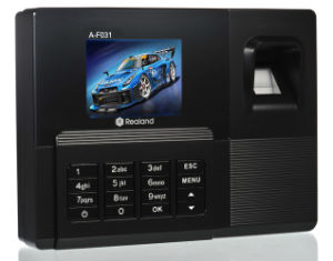 a-F031 Realand RFID Card Biometric Fingerprint Employee Time Attendance System