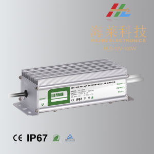 100W 12V 24V Waterproof IP67 LED Power Supply LED Driver pictures & photos
