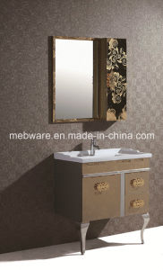 India Single Sink Stainless Steel Bathroom Cabinet