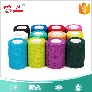 Powerflex 3inch * 5yard Sport Stretch Tape Cohesive Bandage Pre Wrap Vet 12 Rolls pictures & photos