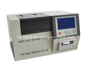 Insulation Oil Acid Value Tester GDSZ-402 pictures & photos