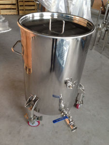 Stainless Steel 200L Wine Barrels with Wheels pictures & photos