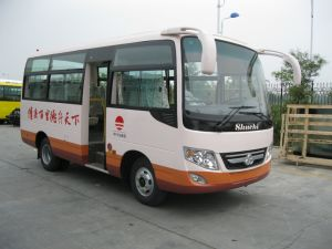 6 Meters Diesel 23 Seats Small Bus on Sale