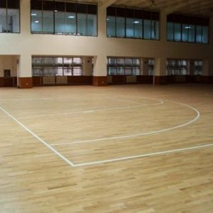 China Basketball Court Sports Maple Wood Flooring China Sports