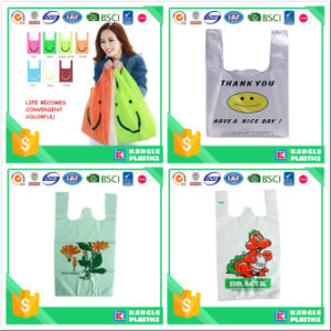 OEM HDPE T-Shirt Bag with You Own Logo pictures & photos