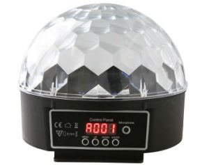 DMX and Without DMX LED Mini Crystal Ball Magic Ball Effect Light