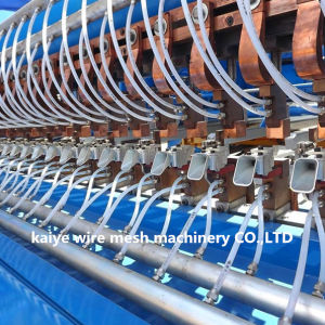 Concrete Reinforcing Steel Bar Welding Mesh Machine pictures & photos