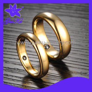 Fashion Design Gold Couples Ring (2015 Tur-044)
