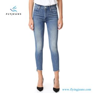 Fashion Vintage Skinny Ankle Denim Jeans Leggings for Women/Ladies pictures & photos