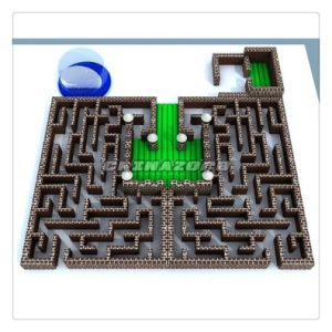 Best Sale Inflatable Maze with Snow Globe at Factory Price