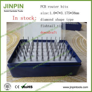 1.0mm Diamond Shape Solid Carbide Small Cutter in Stock