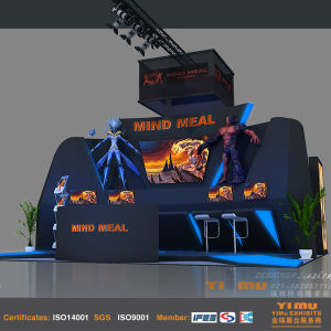 Booth Design and Fabrication of Custom Exhibits