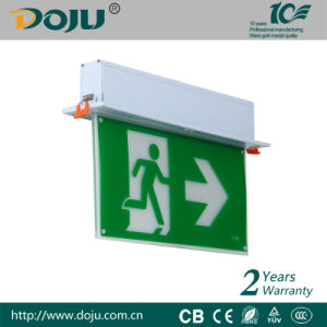 DJ-01k LED Emergency Exit sign with CB(recessed mounted)