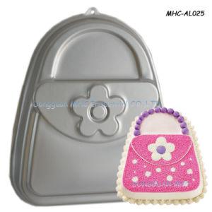 Funny Design Handbag Pattern Cake Baking Tin For Decorating