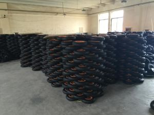 3.25-8 Wheelbarrow and Hand Trolley Rubber Wheel Tire pictures & photos
