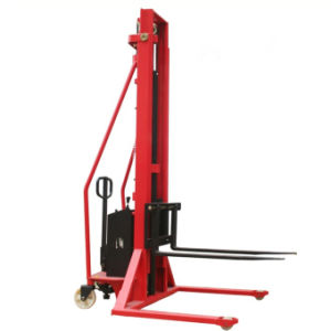 1.5t Semi-Electric Stacker with Adjustable Fork (SESFW) pictures & photos