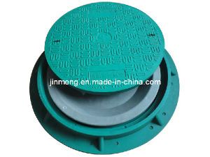 SMC Fiberglass Reinforced Manhole Cover En124 D400 pictures & photos