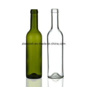 375ml Ice Wine Bottle, Clear Bordeaux Glass Bottle pictures & photos