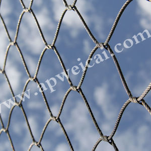 Flexible X-Tend Cable Stainless Steel Woven Rope Mesh pictures & photos