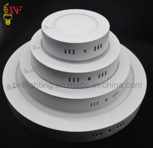 Ce RoHS Square Round LED Ceiling Llight Panel of Ceiling Fixture LED Lights Panel Lighting 6W 12W 15W 18W 24W 48W 600X600 Raw Material SKD pictures & photos