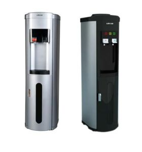 Hot & Cold Stainless Steel Pou Bottom Loading Water Dispenser with Refrigerator