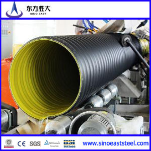 Anticorrosion Large Diameter Steel Reinforced Spirally Wound PE Drainage Pipe pictures & photos