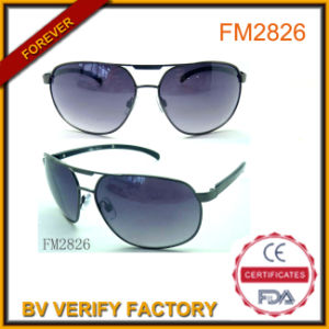 Top Quality Metal Cockpit Sunglasses with Customerized Logo pictures & photos