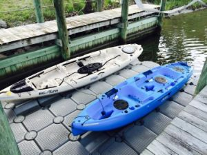 Plastic Floating Boat Dock Jetski Pontoon