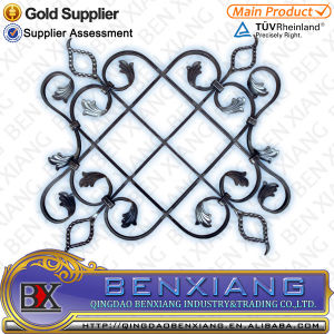 Garden Decoration Wrought Iron Flower ornament pictures & photos