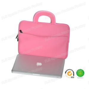 Pink Lady Neoprene Shockproof Notebook Laptop for iPad MacBook Tablet Bag