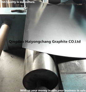 Reinforced Graphite Sheet with Metal Wire/Foil/Tanged China Factory
